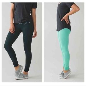 LULULEMON Wunder Under Reversible Pant